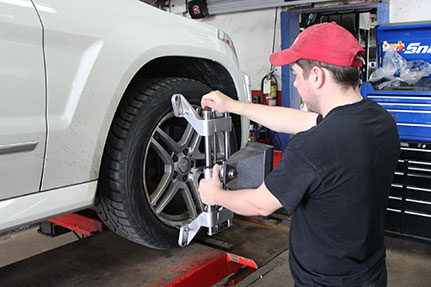 alignement de pneus
